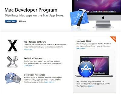 App Store Mac Apple - Developer program