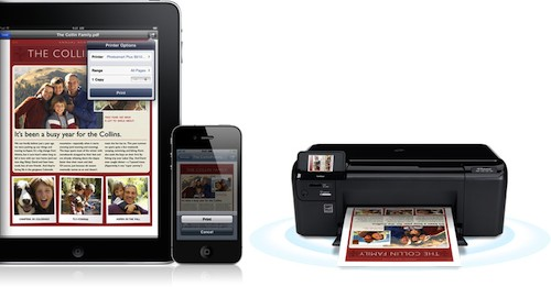 Air Print d'Apple pour IOS 4.2
