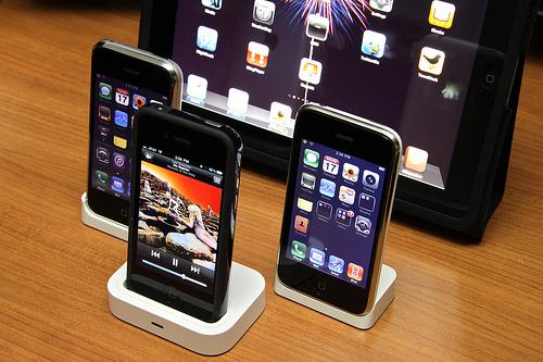 Les smartphones au top