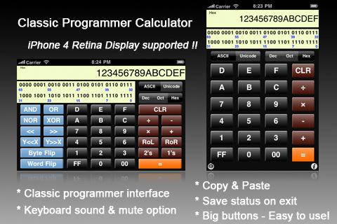 Calculator Programmer pour IOS