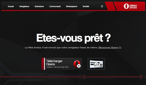 Opera 11 : la nouvelle version du navigateur est disponible