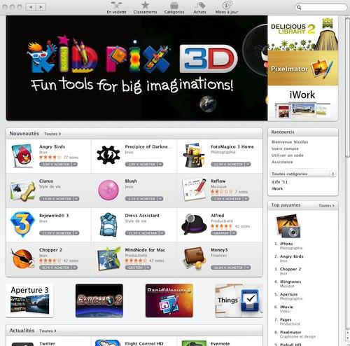 Le Mac App Store