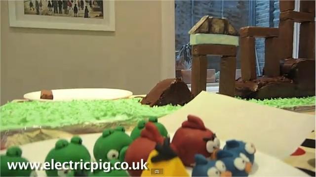 angry birds gateau d'anniversaire
