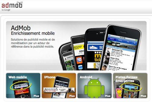 Implémenter AdMob dans votre application mobile