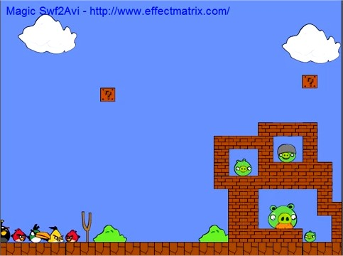 Angry birds et Mario