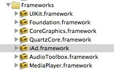 Framework IAd