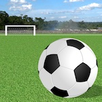 image foot iphone Jeu de football gratuit pour iPhone : Soccer Wind Shot