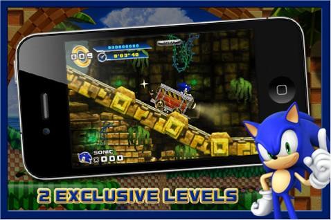 Sonic 4 Iphone