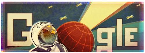 Doodle Google dans l'espace !