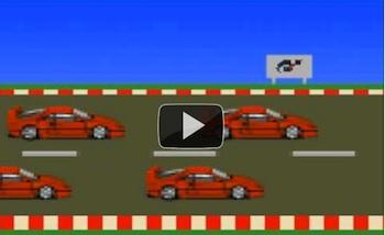 Gran Turismo version Nintendo NES