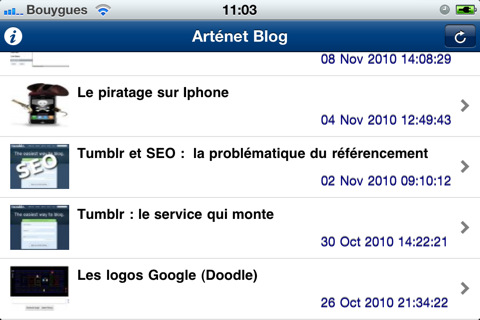 artenet-application-iphone