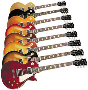 Les guitares Gibson Les Paul