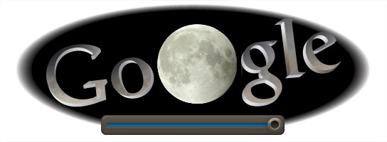 Logo google eclipse de lune du 15 juin 2011
