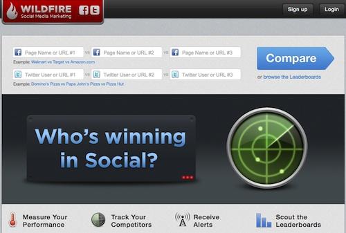 Wildfire Social Media Monitor
