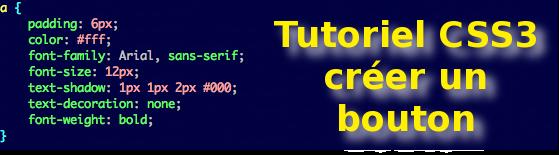 CSS3 tutoriel bouton
