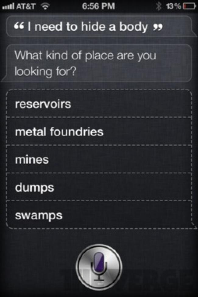 iphone 4s siri reponses insolites 4 Siri et liPhone 4S font le buzz