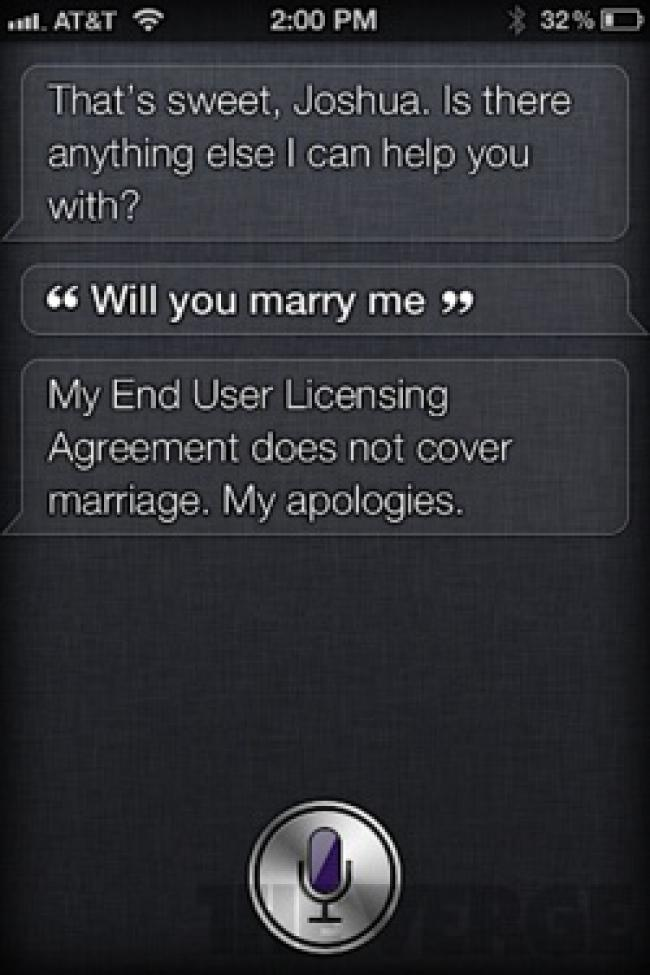 iphone 4s siri reponses insolites Siri et liPhone 4S font le buzz