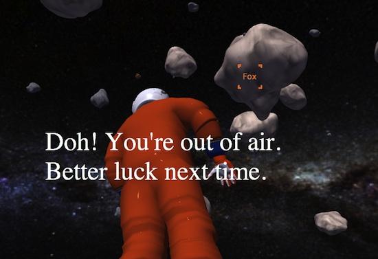 Le jeu Rescue Fox du projet Mozilla Paladin