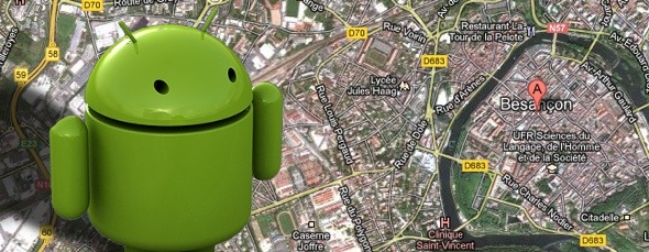 Android Geolocalisation Emulateur