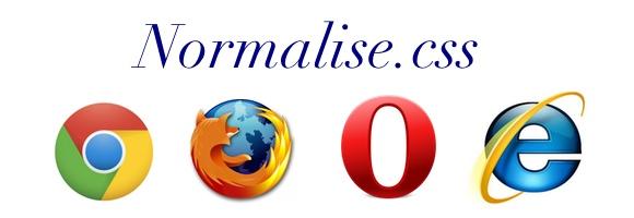 Normlise.css pour harmoniser les CSS entre navigateurs