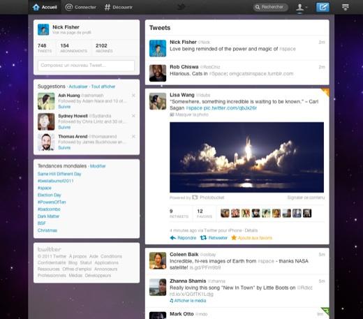 Nouveau twitter 2011