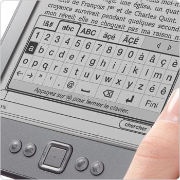 kindle-clavier