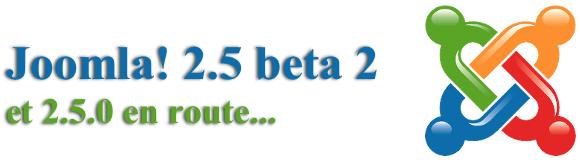 Joomla 2.5 beta 2