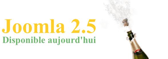 Joomla 2.5 est disponible