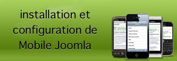 mobile joomla version 1 Mobile Joomla : installation et configuration