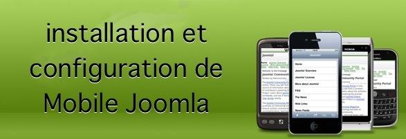 Installation et configuration de Mobile Joomla