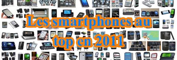 smartphones ventes 2011 Les ventes de smartphones supérieures aux ventes PC