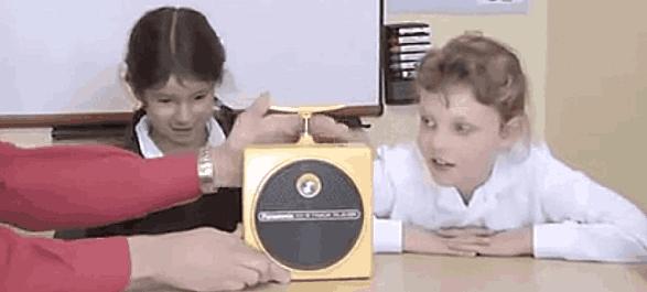 Les enfants et les technologies désuettes