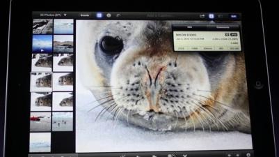 iPhoto sur iPad