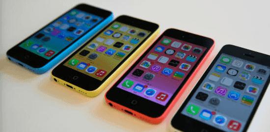 ventes iphone 5c